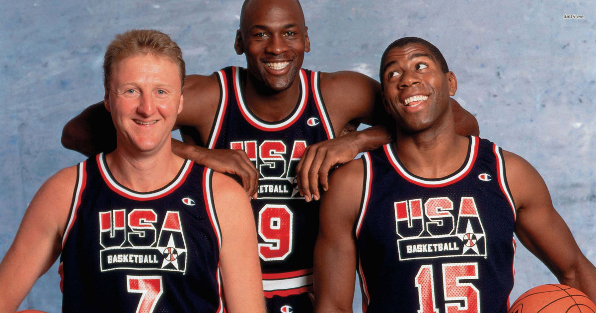 Michael Jordan And His 1992 Dream Team Co-Stars