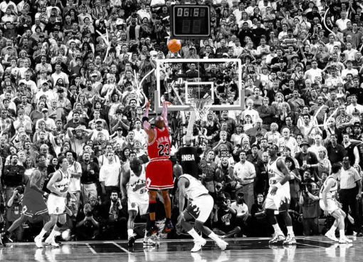 "Michael Jordan ""The Last Shot"" Game Winner"