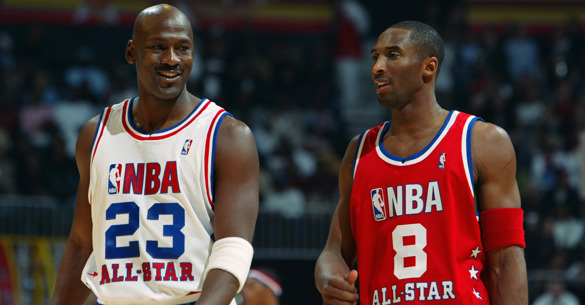 Michael Jordan And Kobe Bryant Chat, One All-Star To Another