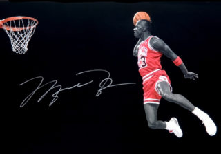 Michael Jordan's Free Throw Dunk At All-Star Weekend